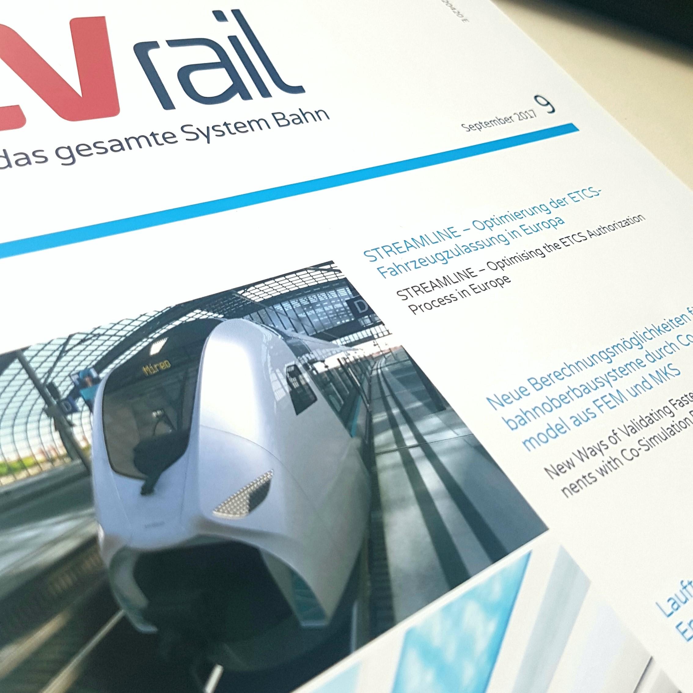 Streamline: Optimierung der ETCS-Fahrzeugzulassung in Europa