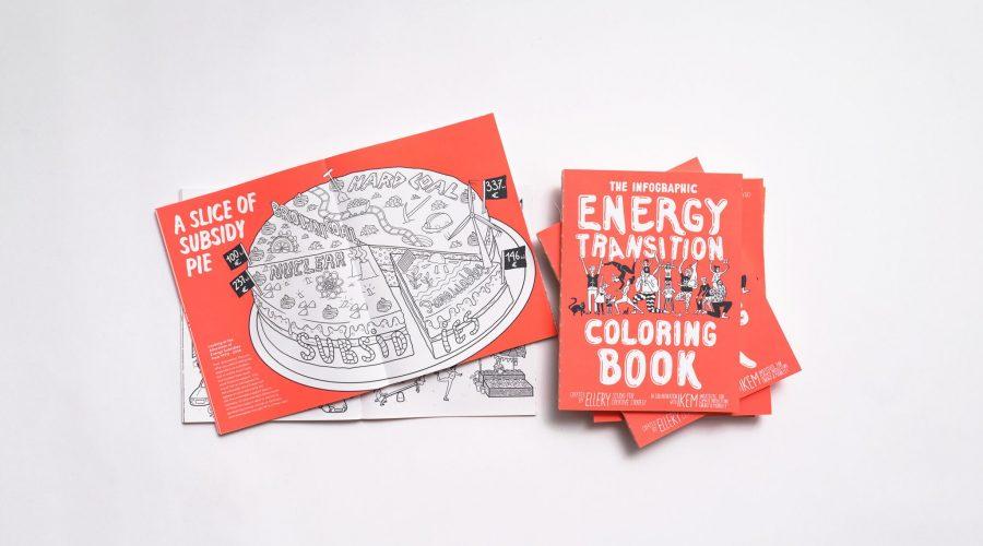 Energiewende-Malbuch gewinnt Design-Award