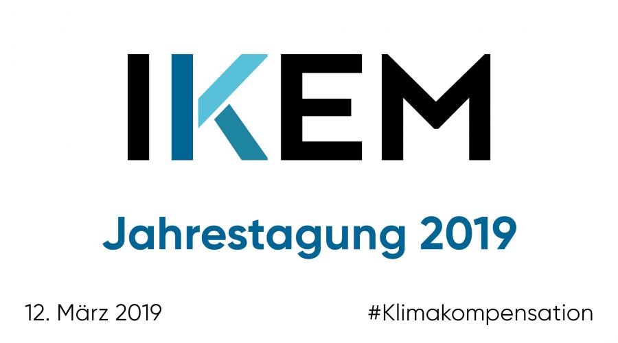 IKEM-Jahrestagung 2019: #Klimakompensation