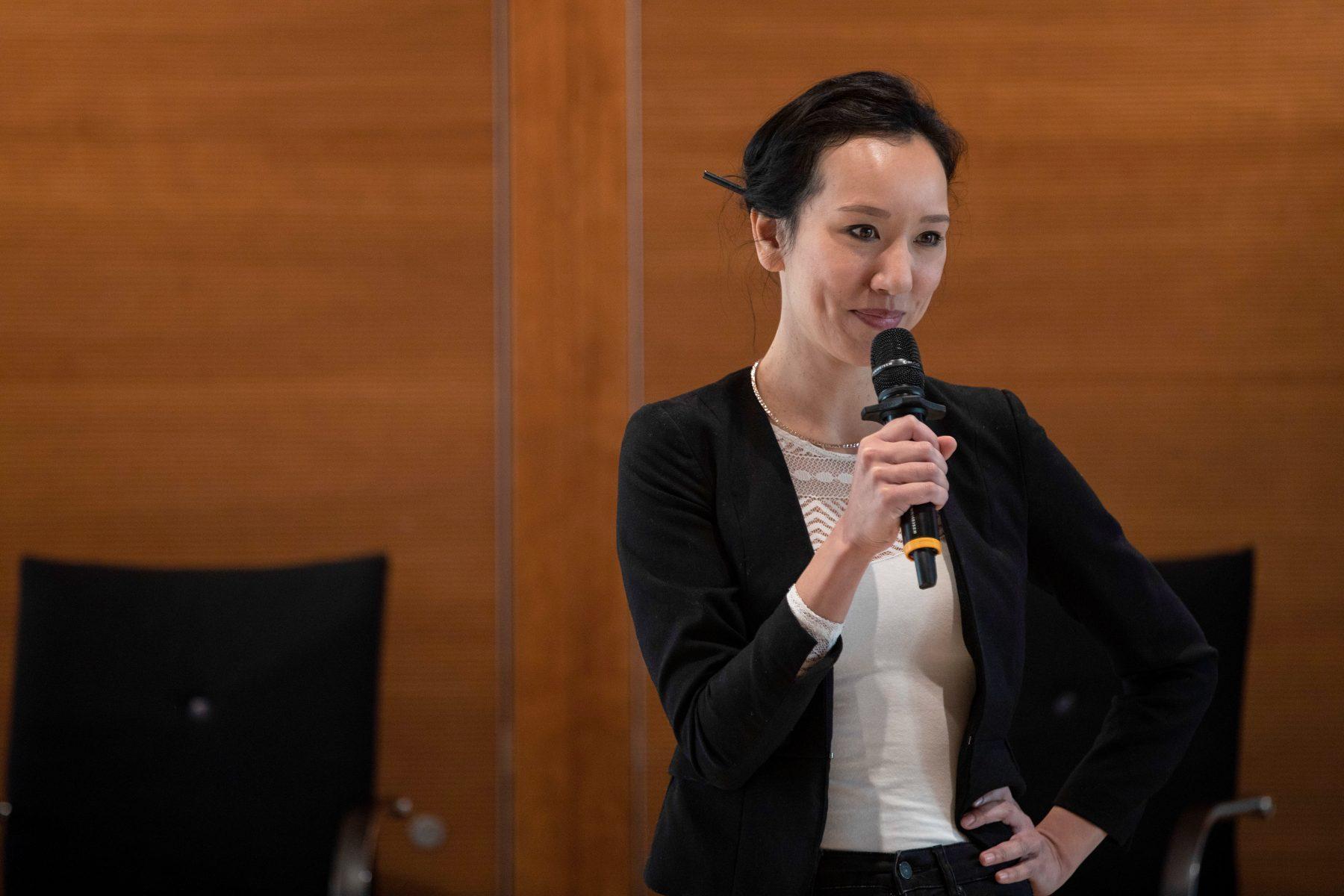 Anika Nicolaas Ponder leitet das Team Nachhaltigkeit und Innovation (Bild: Yehuda Swed/SeeSaw-Foto)