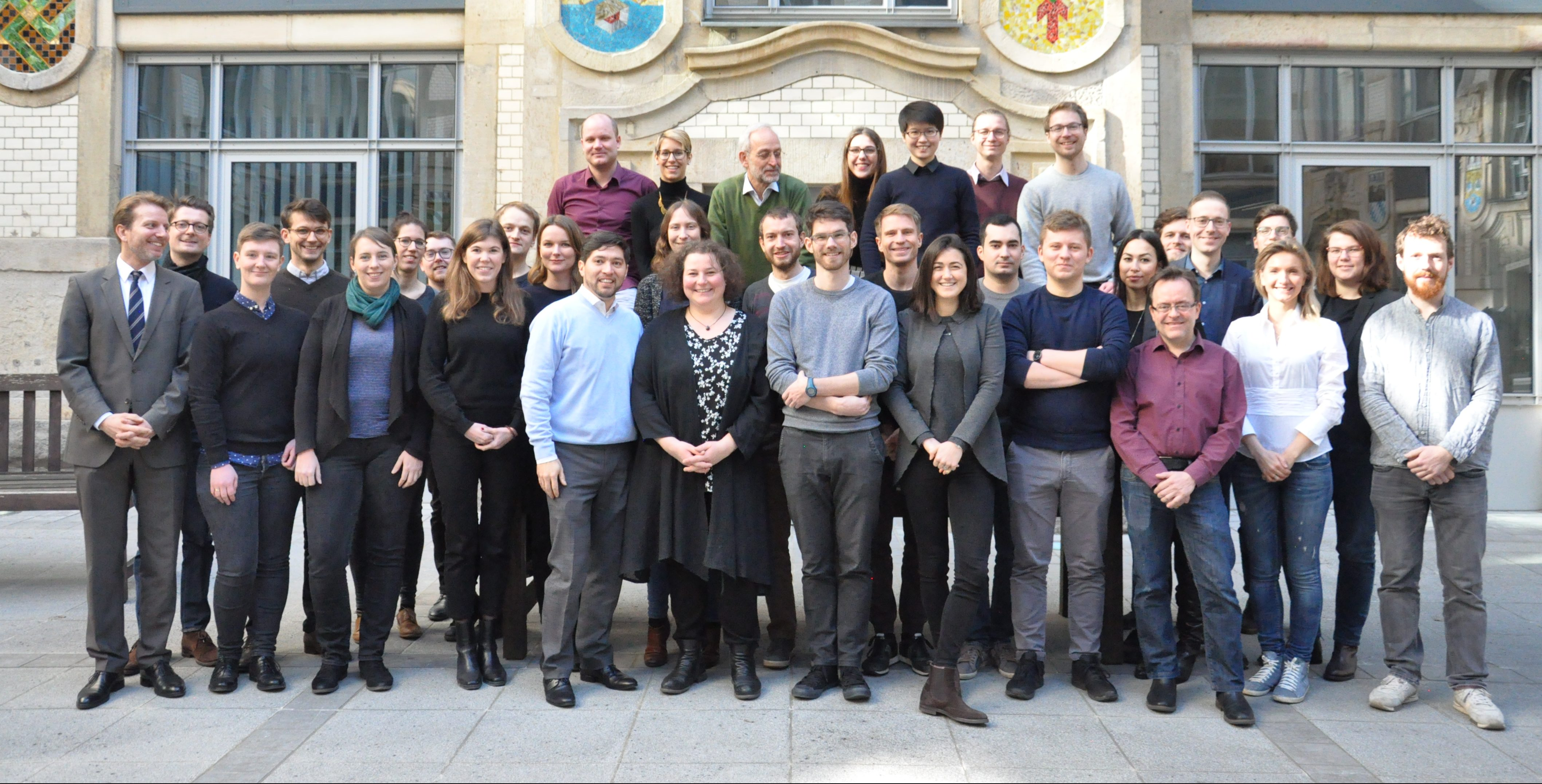 Teile des IKEM-Teams am Standort Berlin im Februar 2019 (Bild: IKEM)