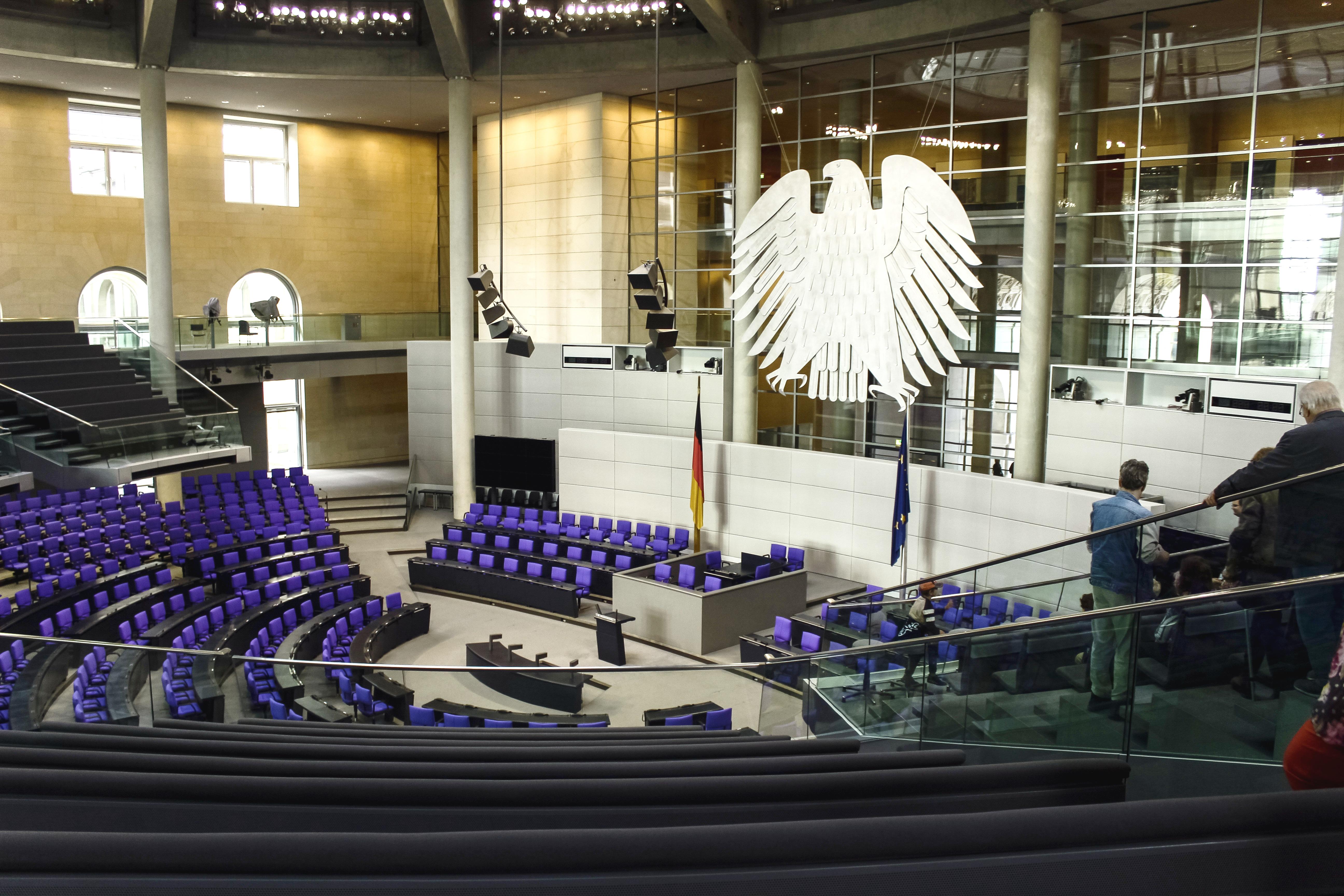 Deutscher Bundestag (Bild: Pixabay.com)