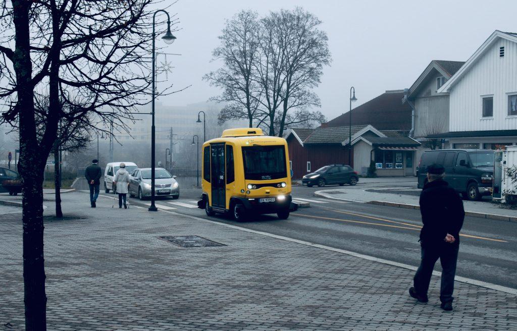 Autonomes Fahrzeug im Projekt Sohjoa Baltic (Foto: Boris Schønfeldt)
