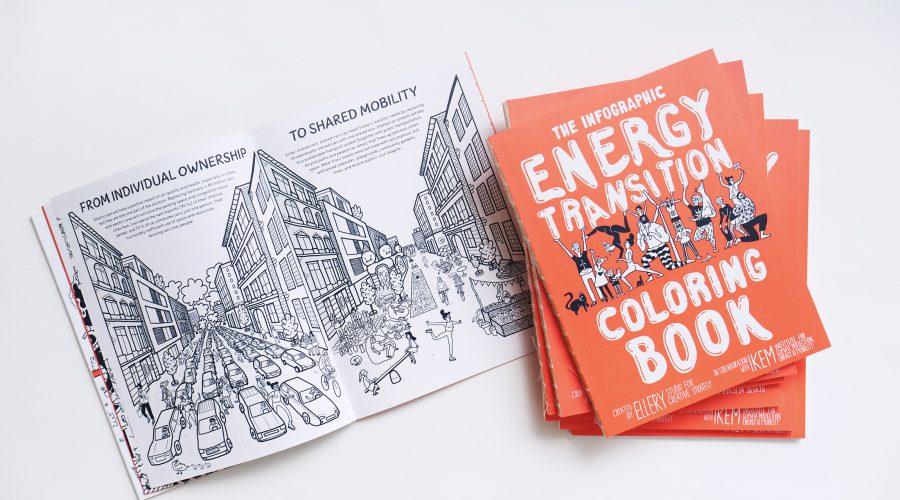 Die Energiewende zum Ausmalen: Internationale Kampagne für das Infographic Energy Transition Coloring Book startet