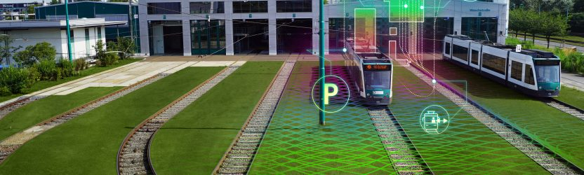 """Launch of research project """"Autonomous Tram in Depot"""""""
