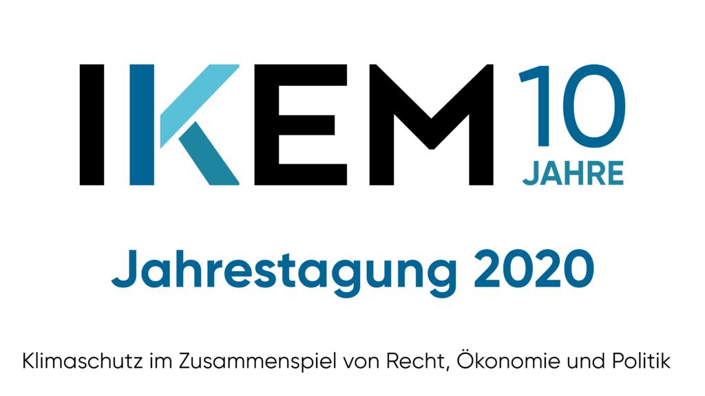 Visual zur IKEM-Jahrestagung 2020