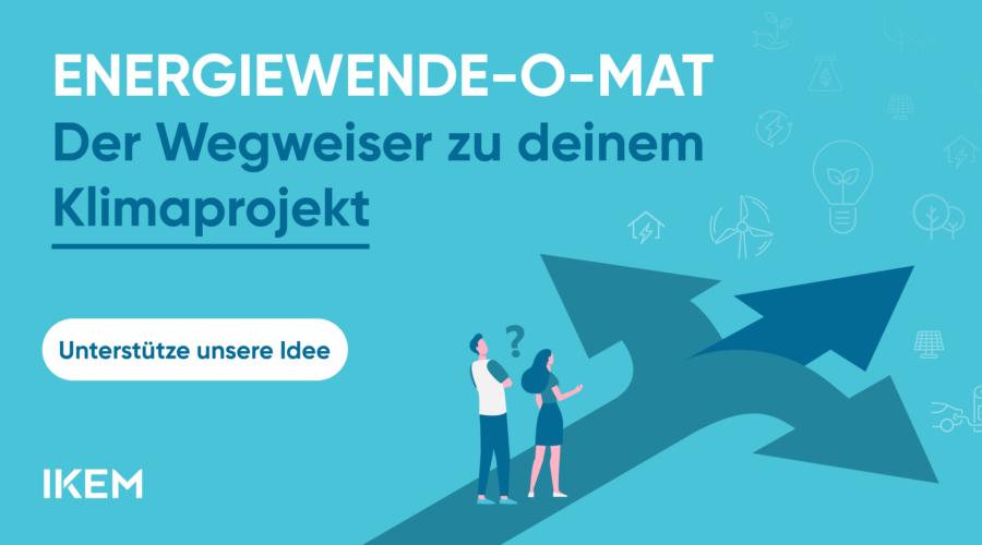 Der Energiewende-o-Mat – Bürgerliches Engagement fördern