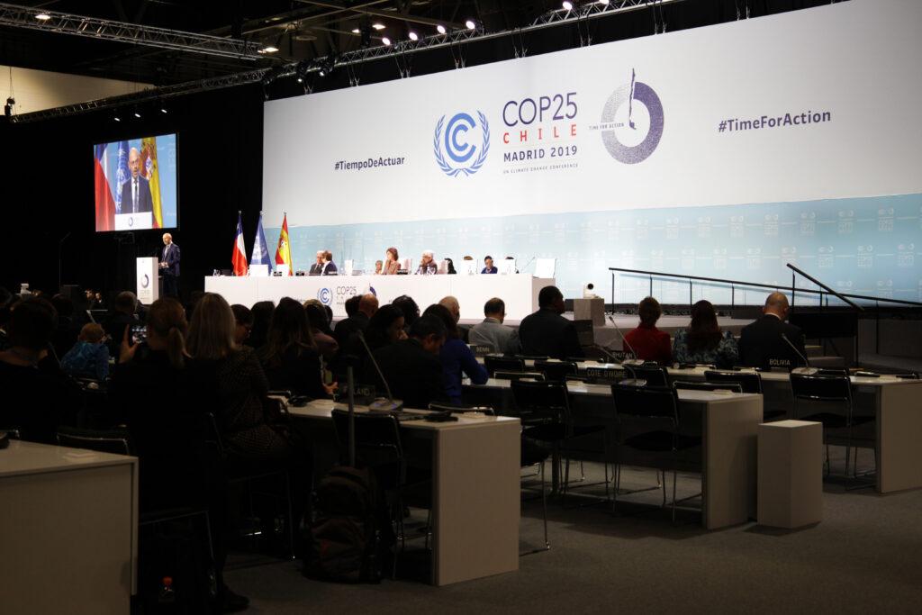COP 25 Klimakonferenz in Madrid (Quelle: UNFCC)